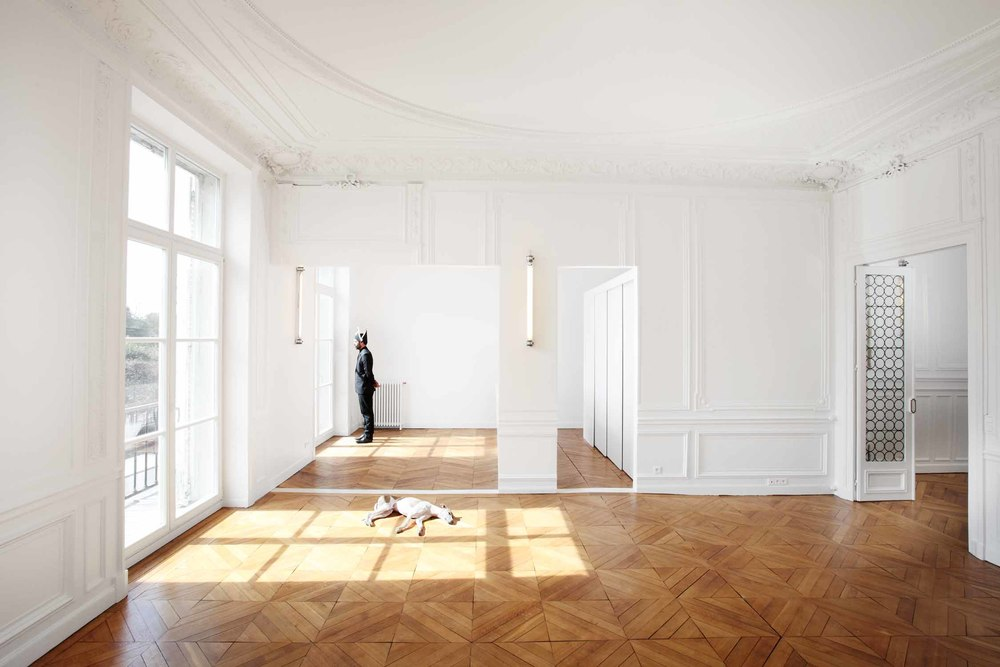 Freaks Free Architects // Appartement rivoli Paris
