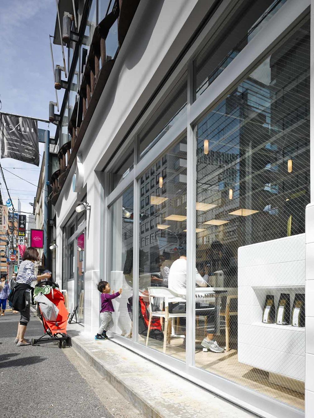 Cut Architectures // Coutume Café, Tokyo Japon