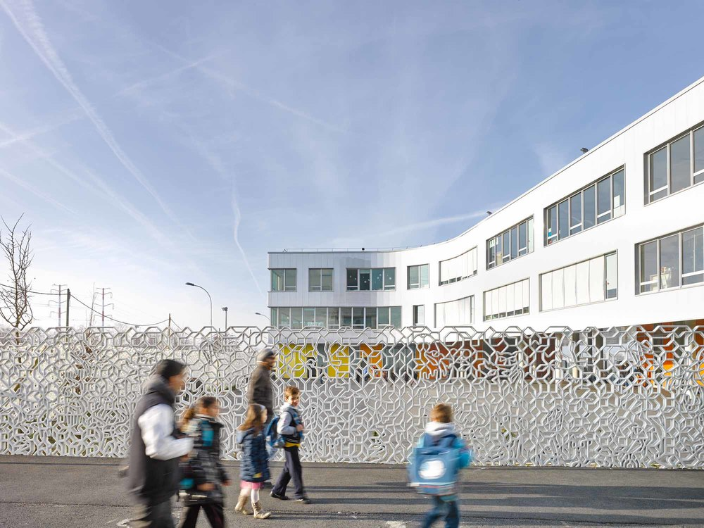 Chartier Dalix // Groupe scolaire Fresnes France