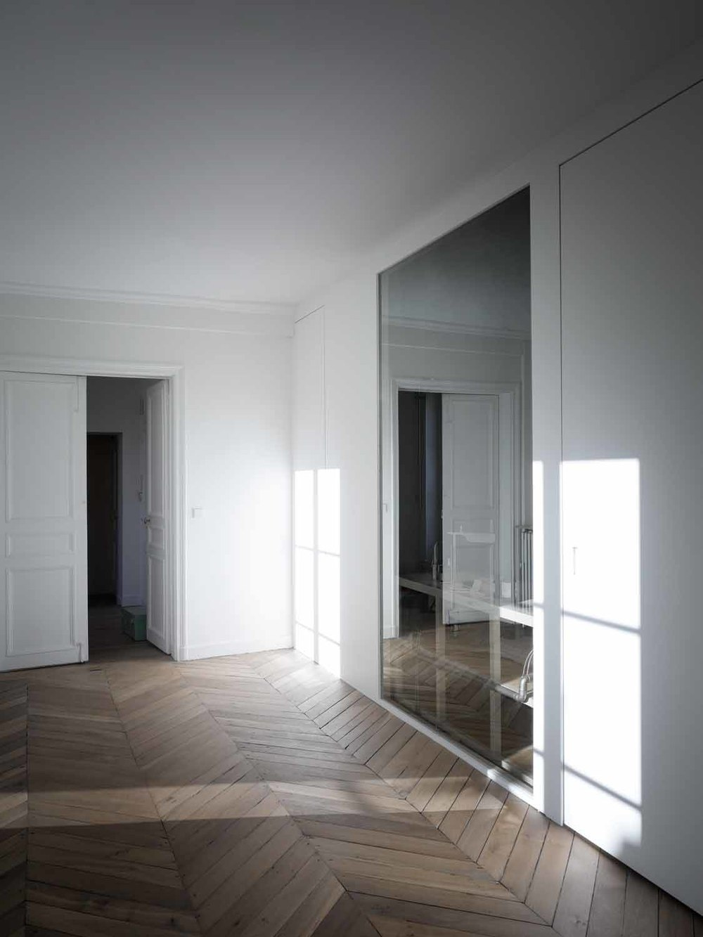 Cut Architectures // Appartement Paris