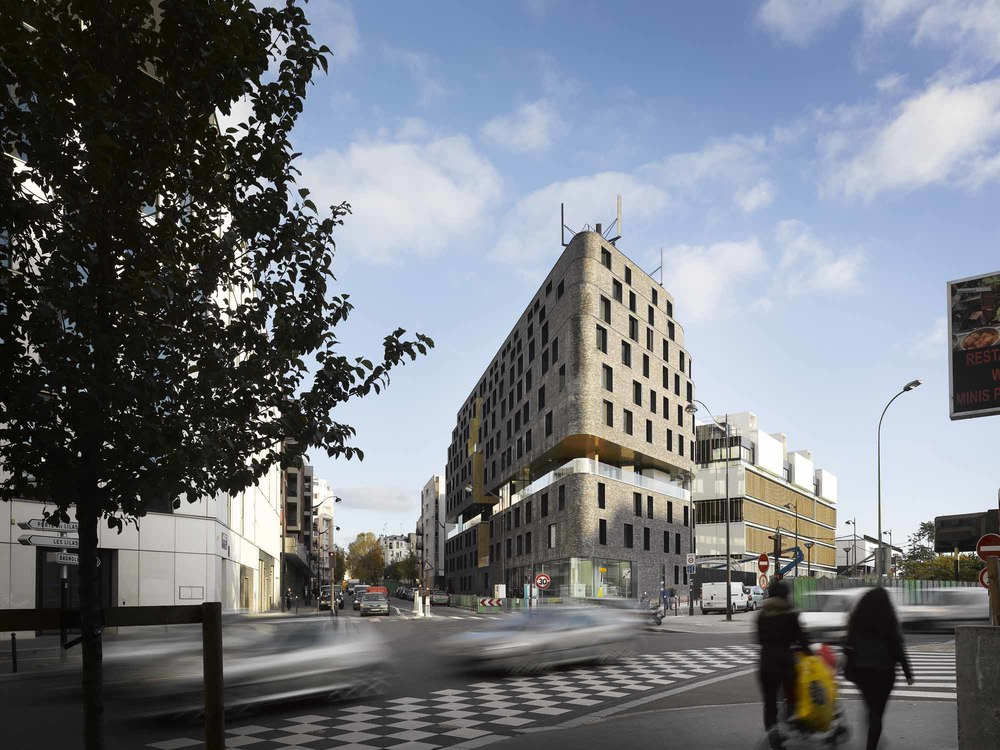 Chartier dalix+Avenier Cornejo // foyer jeunes travailleurs Les Lilas, France