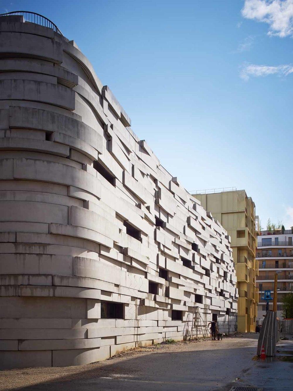Chartier Dalix // Groupe scolaire Boulogne, France