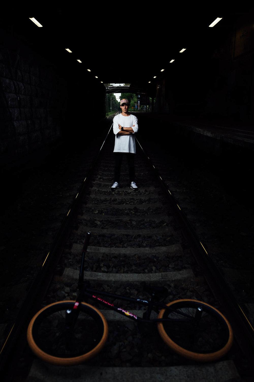 Imagebilder des BMX Superstars VikiGomez in Berlin