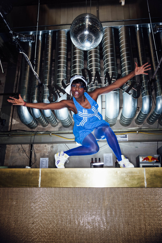Imagebilder der berliner Choreographin Nikeata Thompson in Berlin