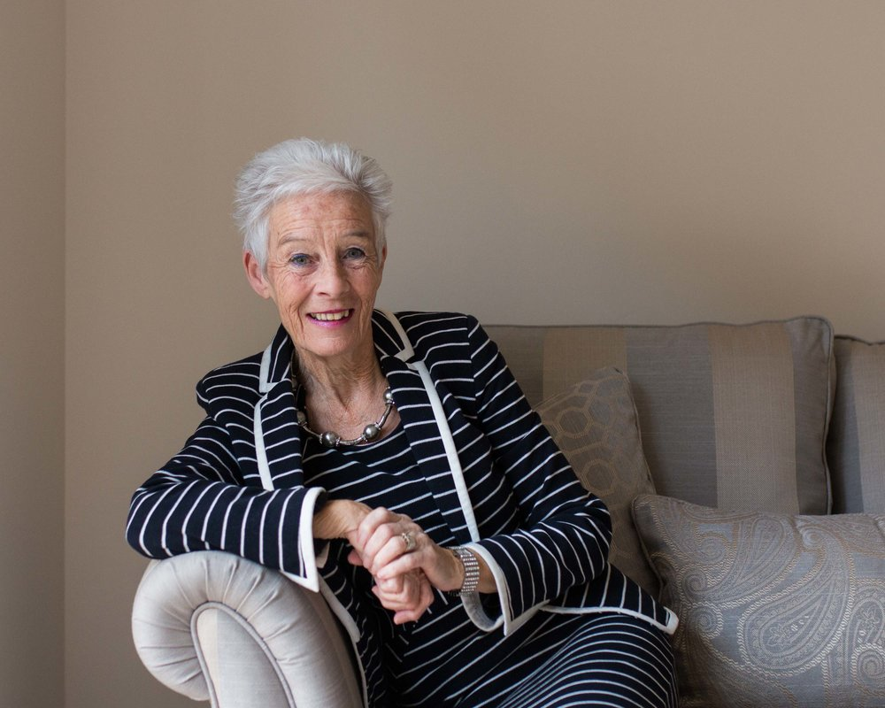 Jean has lived with a lung disease for thirty years but after an episode of life-threatening illness she has found enlightenment and lives her life to the full with thanks every day.
