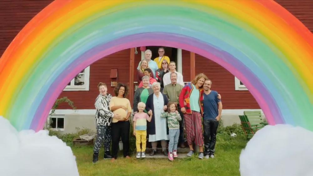 Regnbågsfamiljen, SVTB 2016