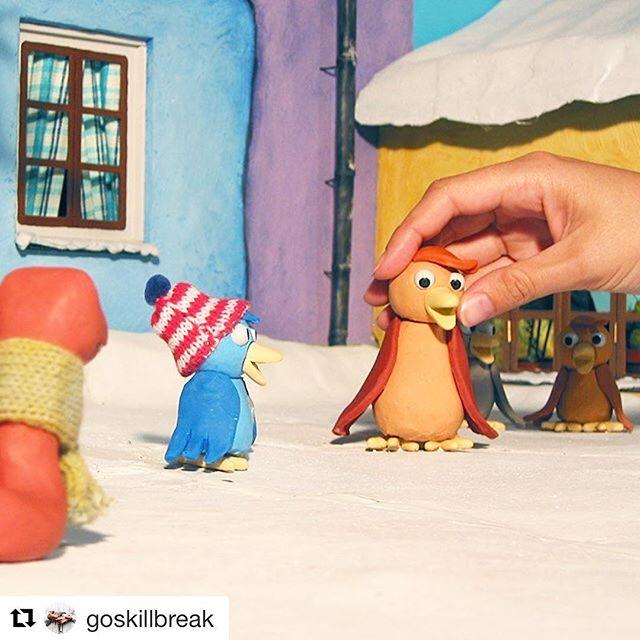 Nyfiken på att lära dig grunderna i stop-motion-animation? Gå in på skillbreak.com och boka in dig på en workshop med Röda robotens Staffan Erlandsson den 14 oktober! #stopmotion #skillbreak @goskillbreak