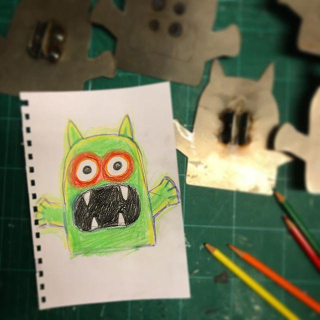Nu blire nya monster i Pettsonhuset... 😱👻😊 #pettsonochfindus #grönalund #halloweenpågrönan #svennordqvist @lmsporrong