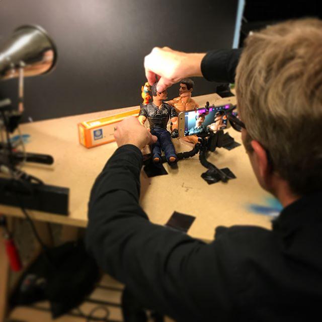 Intensiv och kul stop motion-workshop för personal från @sensusstockholm idag 💕 #stopmotion #rodaroboten