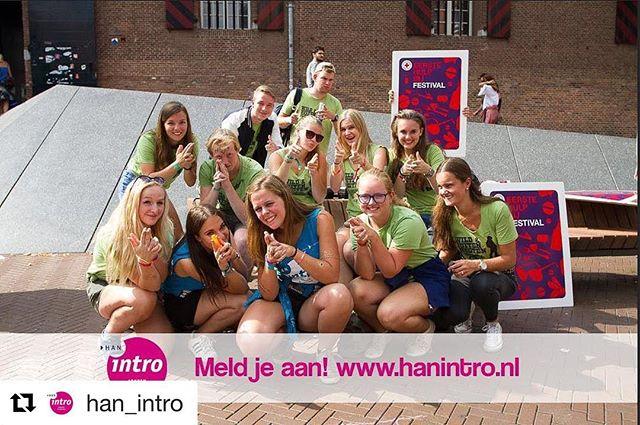 Meld je snel aan voor de intro! Repost: @han_intro #student #arnhem #nijmegen #han #studeertechniek
