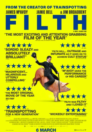 FILTH  REGIE: JON S. BAIRD, STEEL MILL PICTURES, HAMBURG UNIT, ARTDIRECTIOR GERMANY: ANNA ALAEDDINE