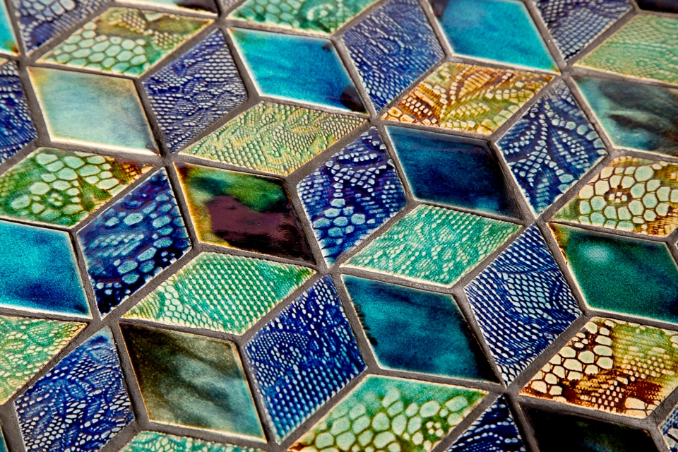 Handcrafted ceramic tiles