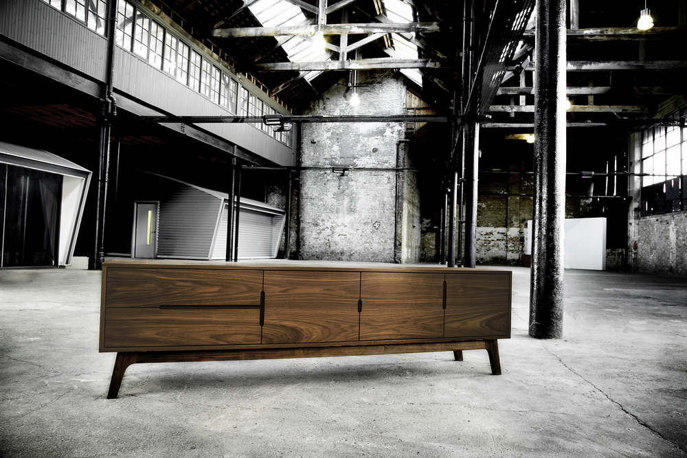 Above: Beautifully handmade ES Sideboard by AFID Design.