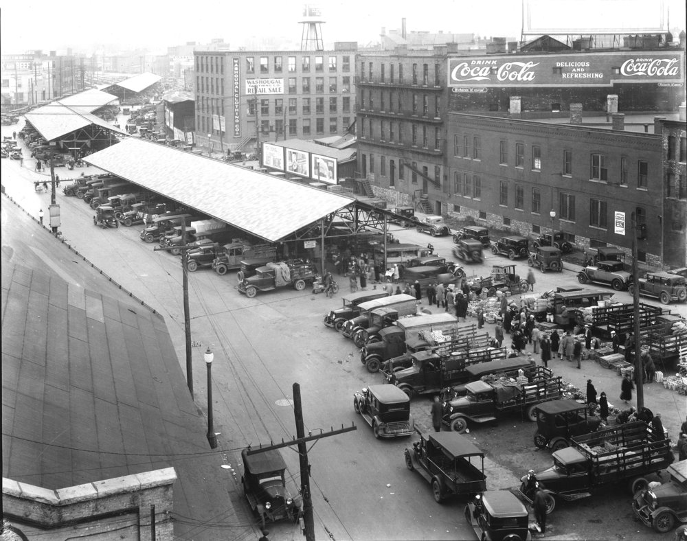 Syracuse Public Market c1930 (Onondaga Historical Association)