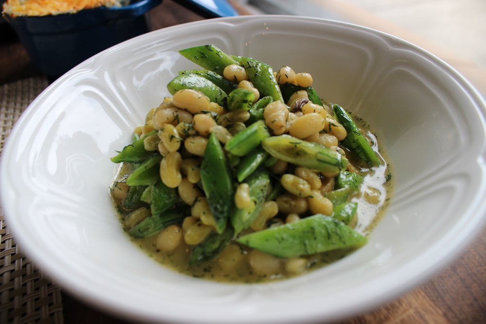 Local Lady Peas and Snap Peas in Lemon Dill Butter 2.JPG
