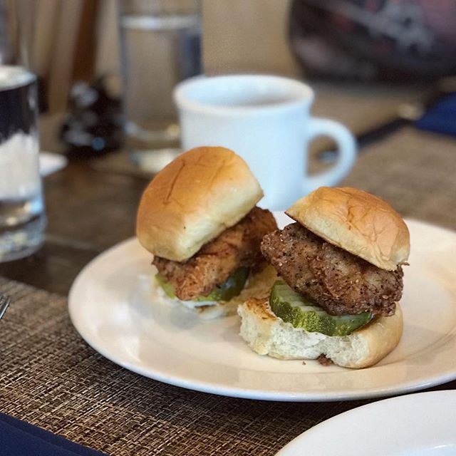 Starting the day off right, with our Closed on Sunday Chicken Sandwiches.  #brunchlife #revivaldecatur  #closedonsundaychickensandwich #decaturwhereitsgreater