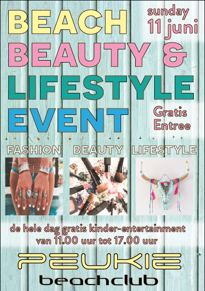Peukie Beachclub 2017 Beach Beauty and Lifestyle event
