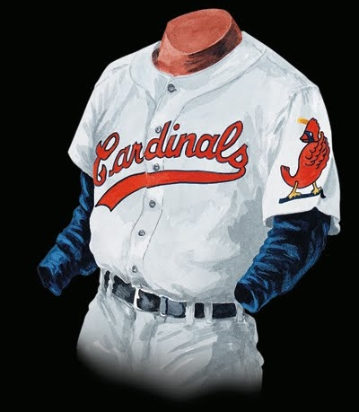 Photo credit: St. Louis Cardinals Uniform History