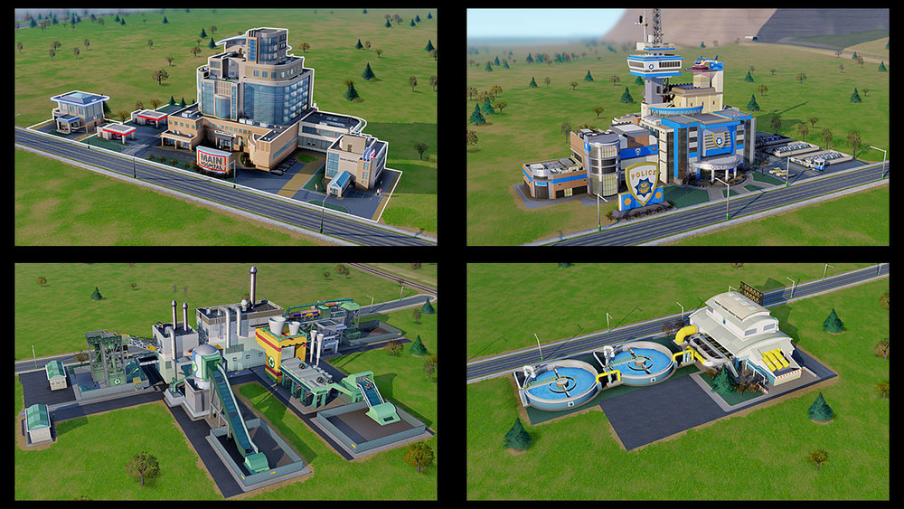 SimCity Buildings