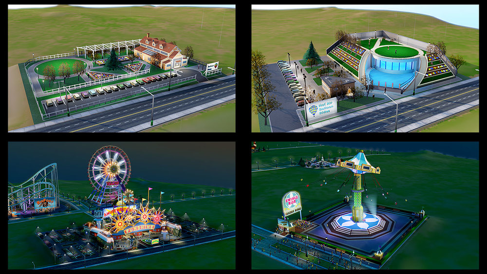Culture and Amusement Parks DLC