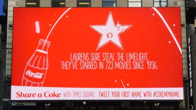 Send a Tweet to Coke's Digital Billboard, and It'll Tell You Fun Facts About Your Name.The brand will even send you a photo By Lauren Johnson via Adweek