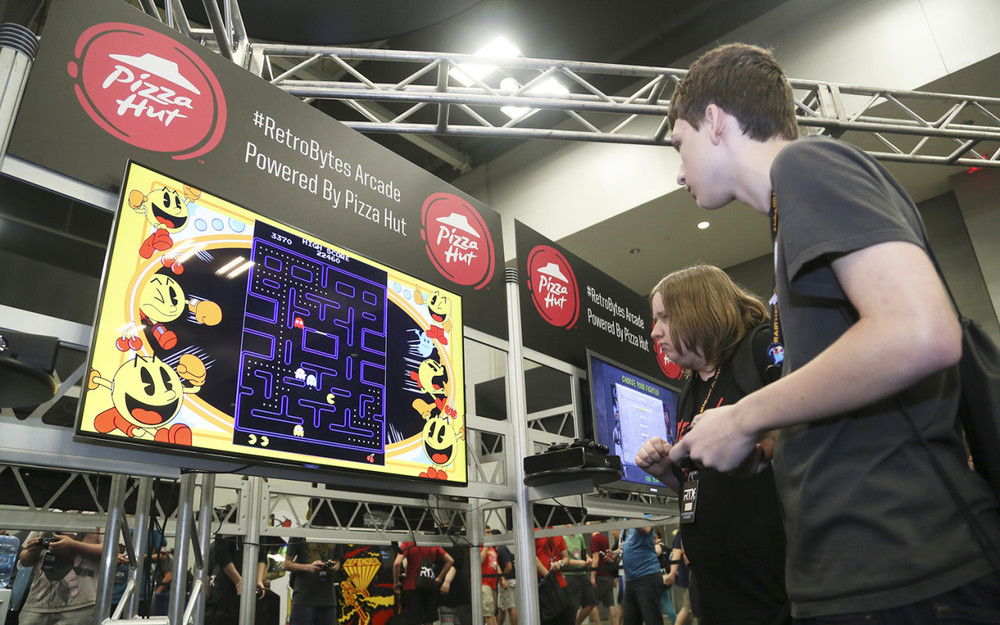 """Pizza Hut Engages Gamers With A Retro Arcade"" By  Kait Shea via www.eventmarketer.com"