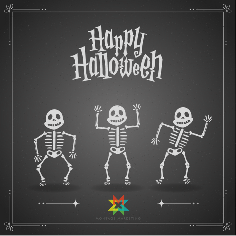 Happy Halloween from Montage Marketing
