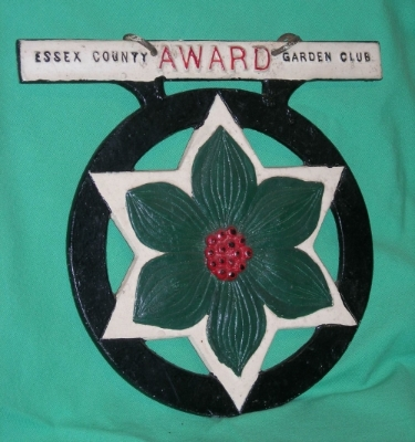 Cast Iron Wayside Award of Merit