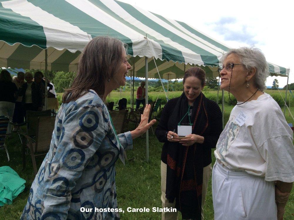 Our hostess, Carole Slatkin.jpg