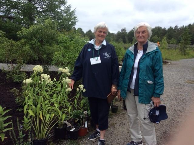 Nancy Howard and Lynne Perry