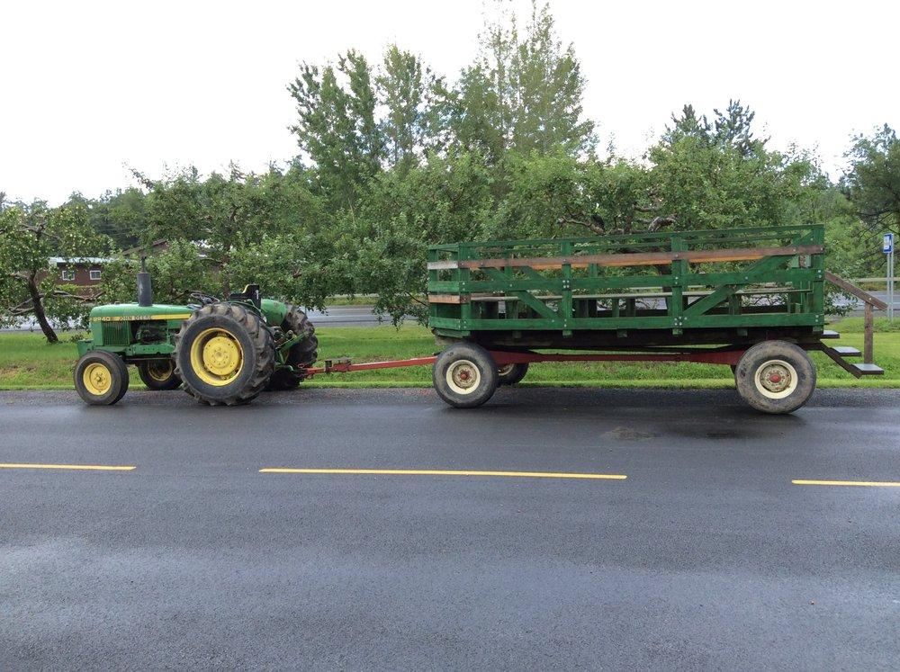 Our transportation!