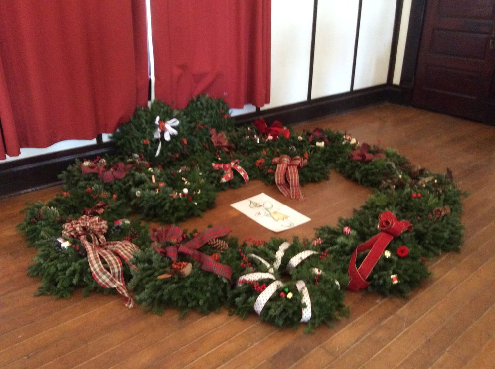 Wreaths made for Families First