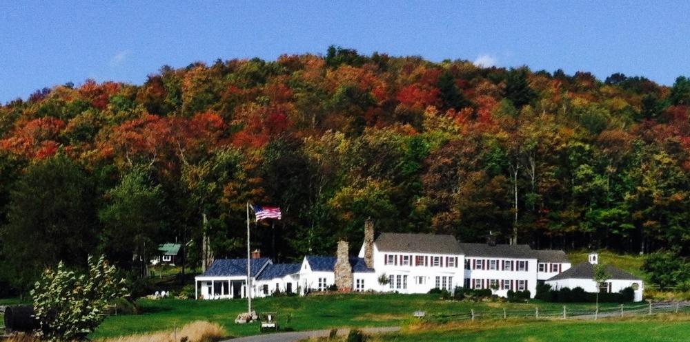 A view of Heaven Hill Farm