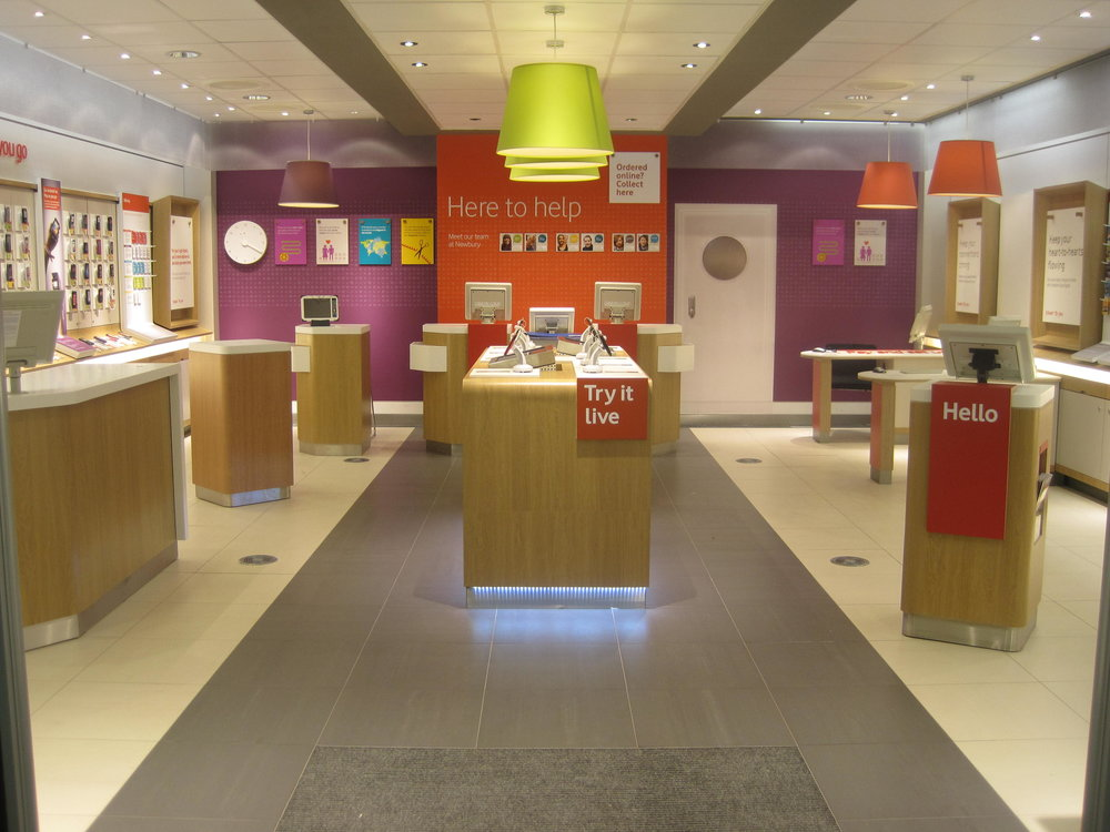 Mobile phone store UK