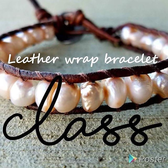 Hey guys! Today at 2pm I'm hosting a leather wrap DIY class. I have 4 spots open! Go to hempgalore/facebook.com to see the event page! #diyclass #hochatown #brokenbow #thingstodoinbrokenbow #thingstodo #mccurtaincounty #hempgalore #makingjewelry #class #girlsnight