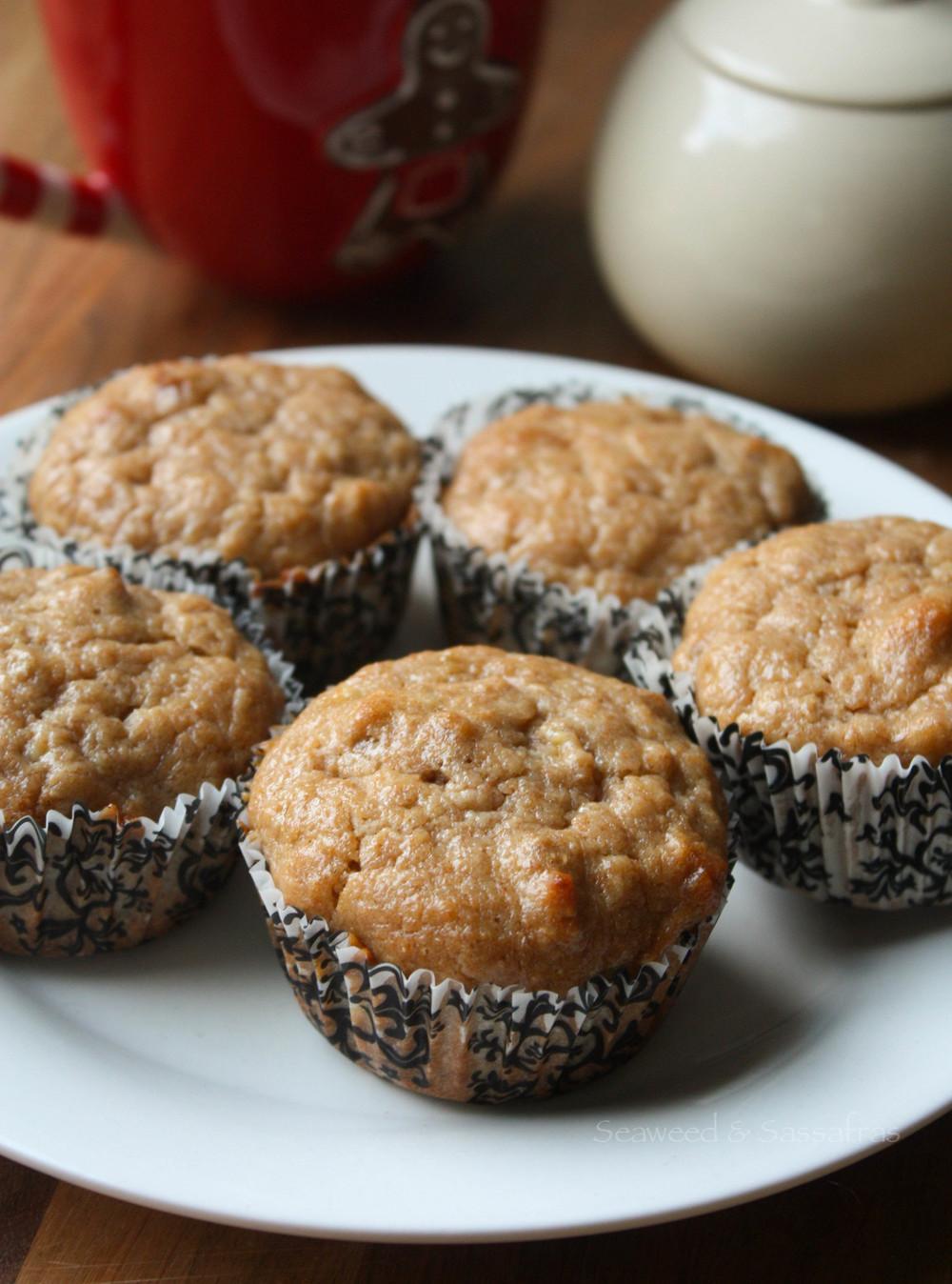 Coconut-Pecan Banana Muffins