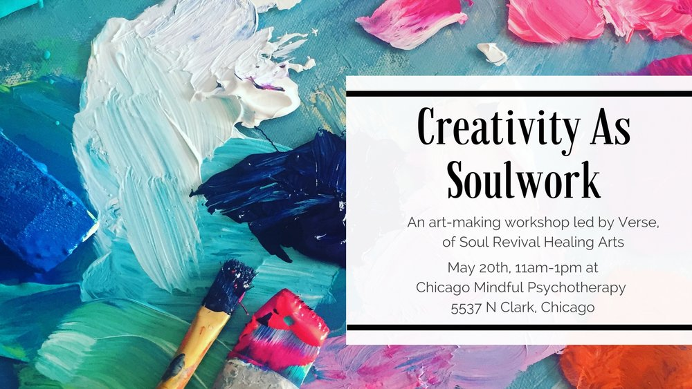 Creativity As Soulwork