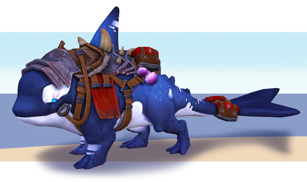 The War-Ka's final render, part of the final presentation.