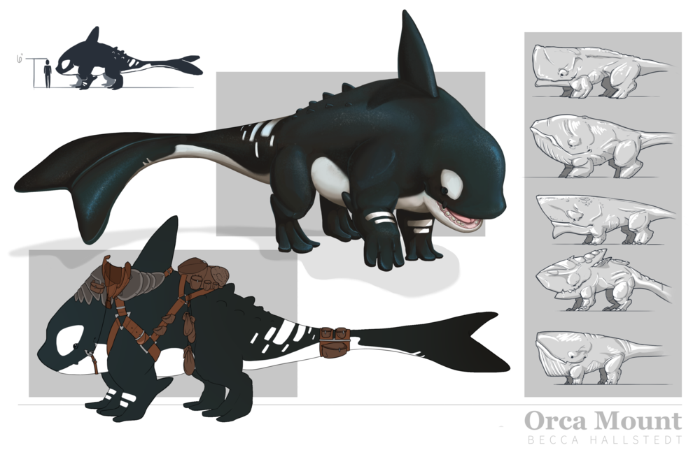 Original creature concept page from 2014.
