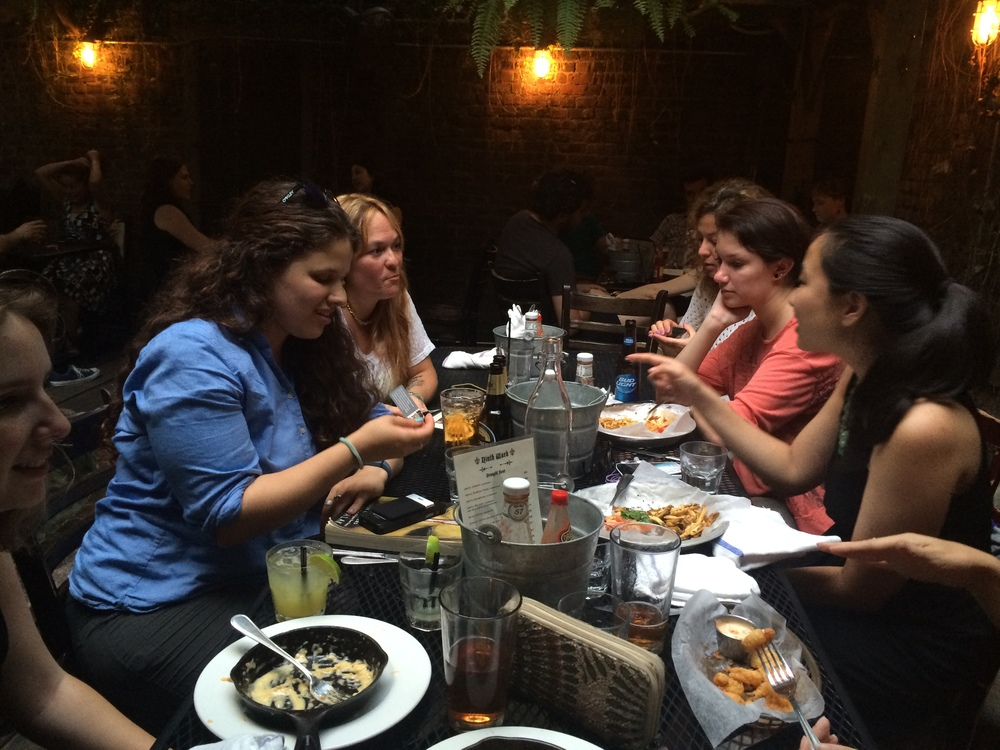 Go Girl Reads NYC Meetup discusses Salak's Four Corners.