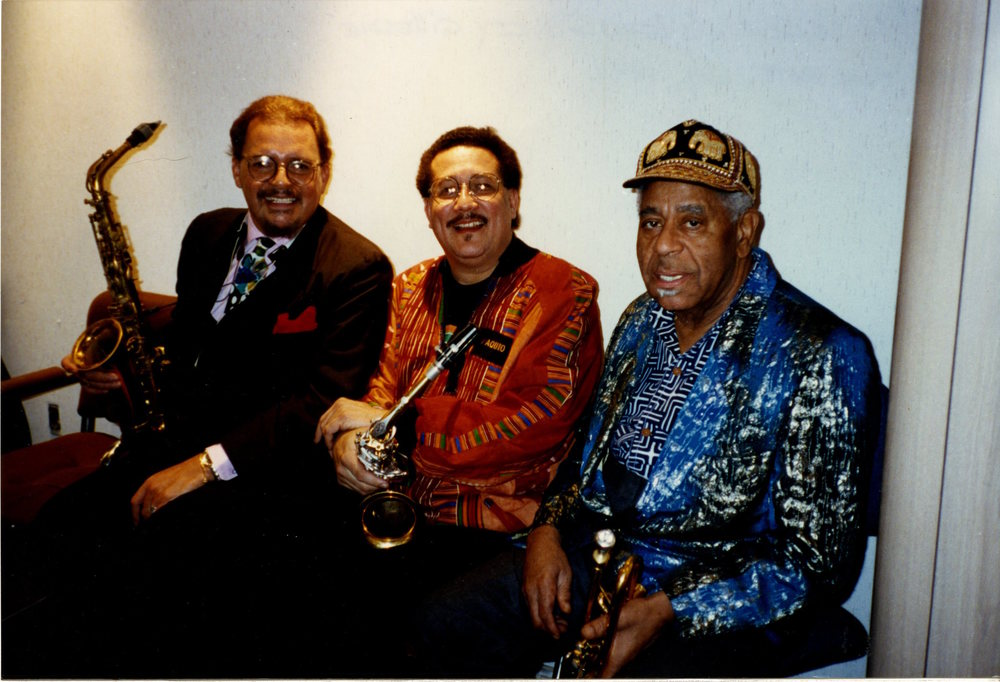 Paquito D'Rivera with Dizzy Gillespie