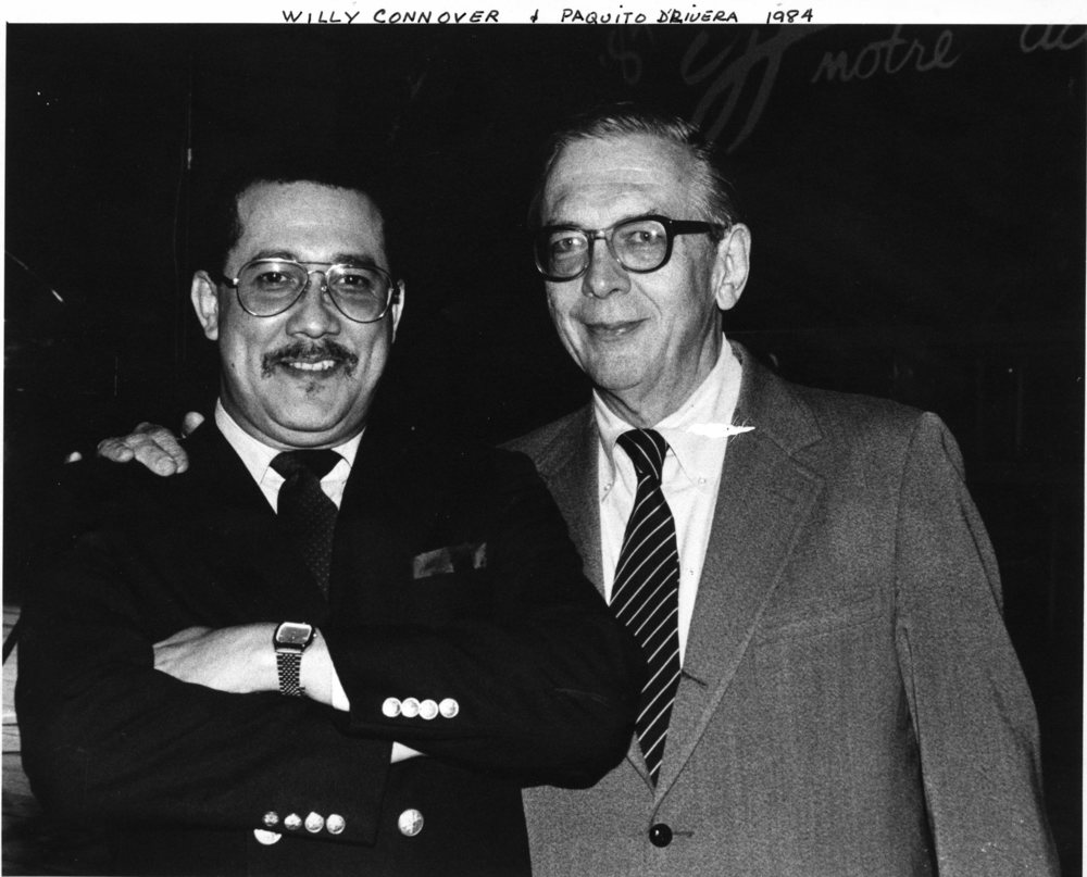 Paquito and Willy Connover of Voice of America