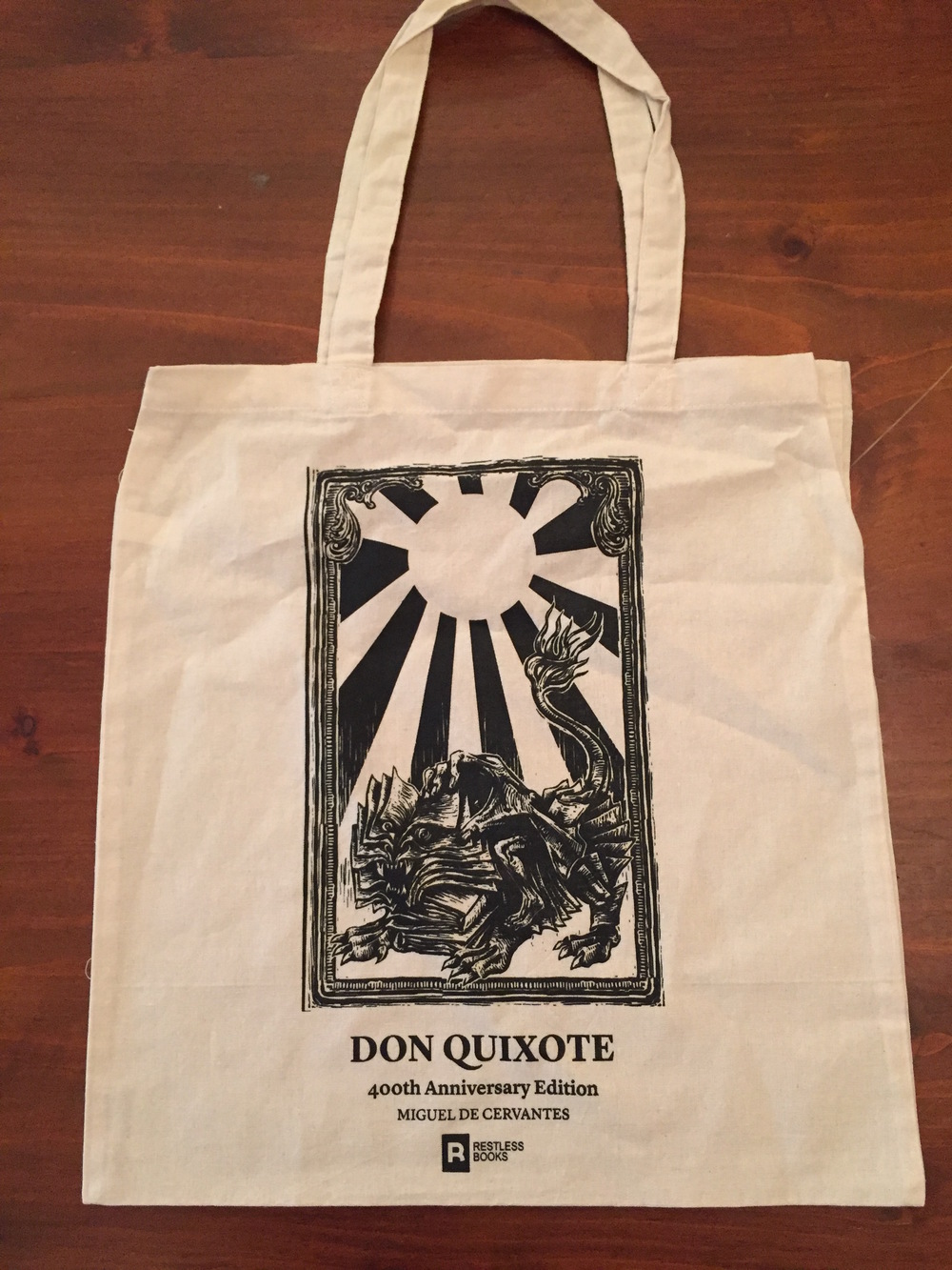 Don Quixote tote Bag - Lion.JPG