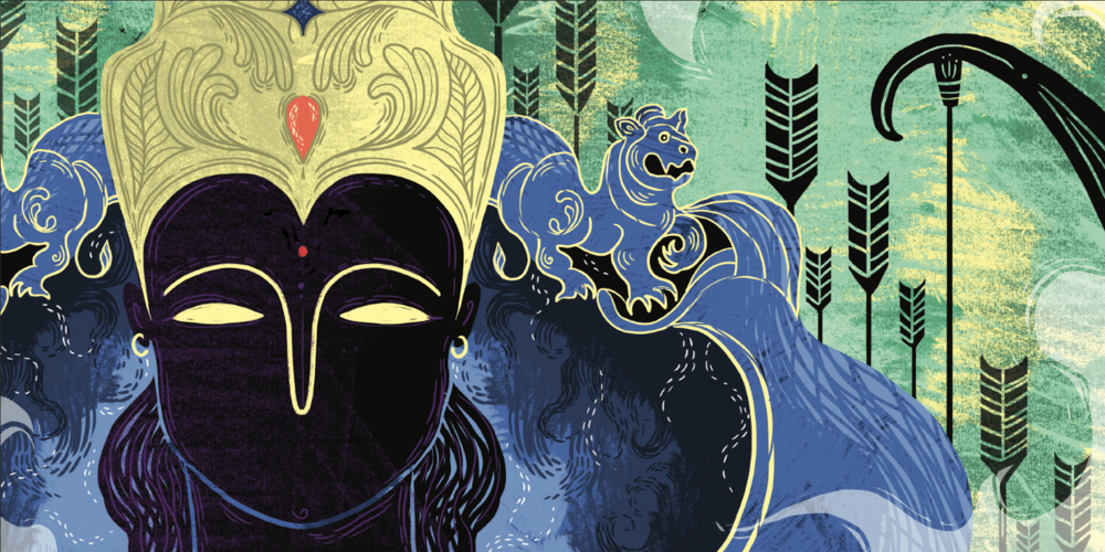 Ramayana 19 - King Rama.png