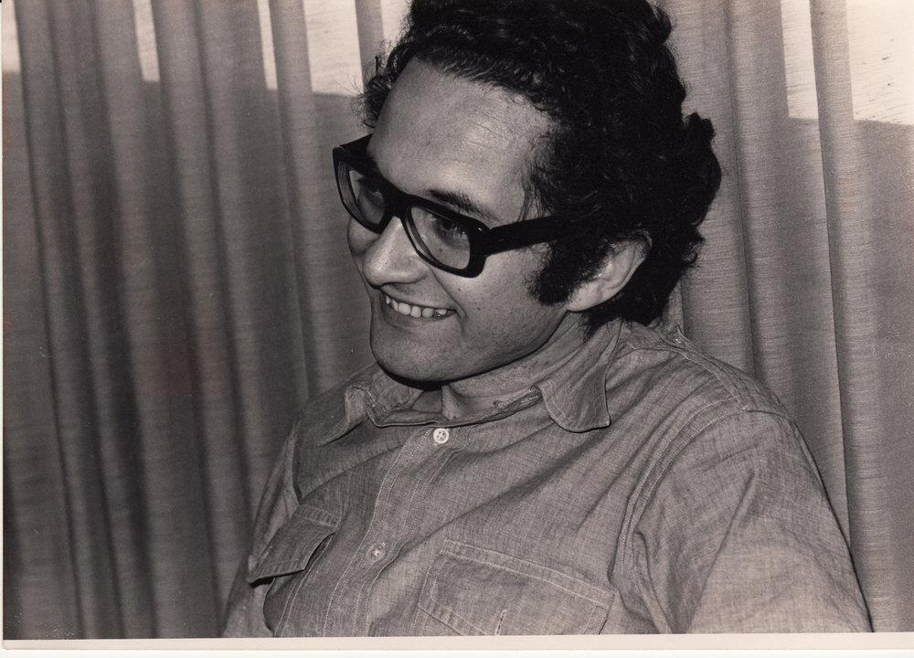 Ricardo Piglia © Archivo del autor