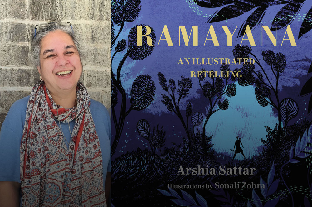 Arshia Sattar debuts her retelling of The Ramayana