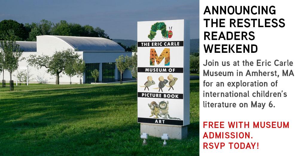 Restless Readers Weekend promo