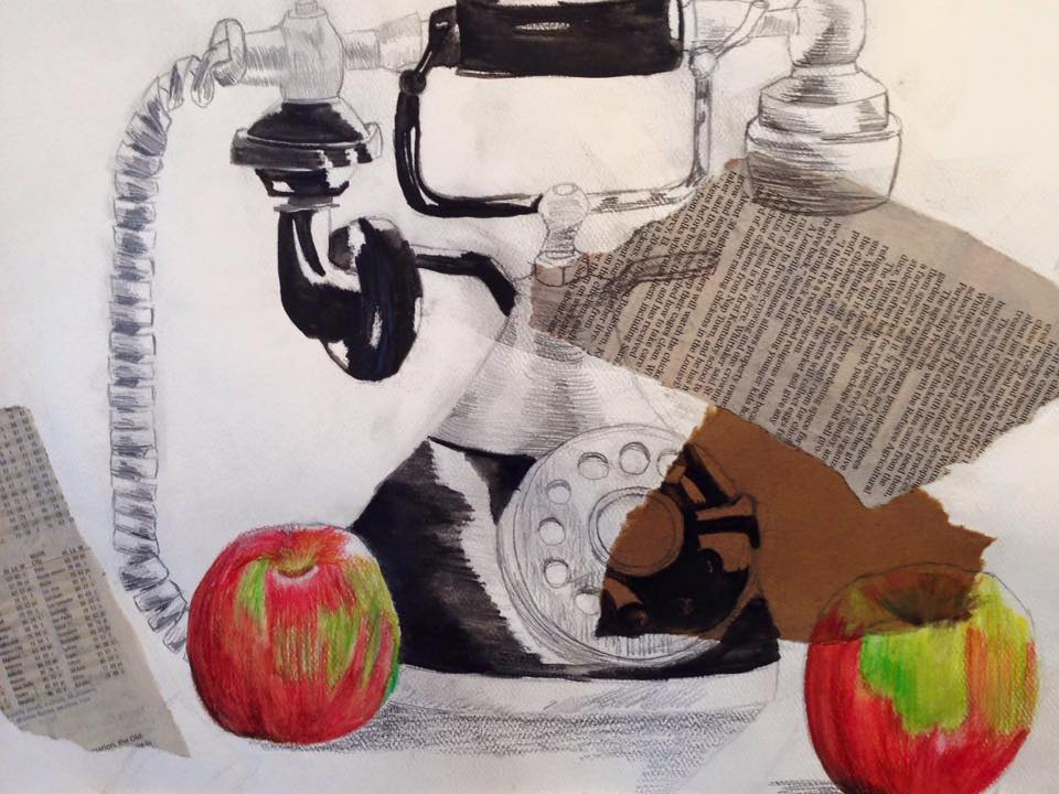 Congratulations to Carolyn Siegenthaler for winning the People's Choice Award with this piece!