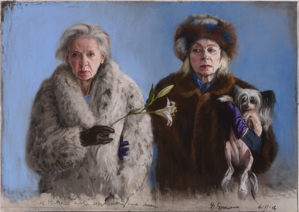 "Gaela Erwin, ""Self Portrait with my Mother"""