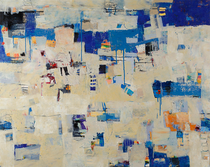 """Attic Dream"" by Cheryl Chapman, 48x60in, oil on canvas, $4800   